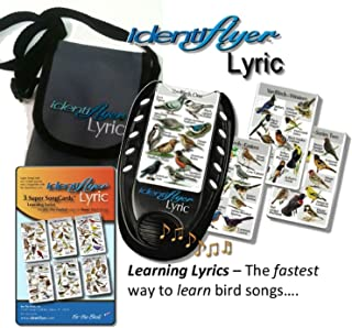 Identiflyer Lyric 100 Birds Kit Includes Machine, 3 Cards Song set, and Case