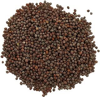 Frontier Co-op Brown Mustard Seed, Whole, Certified Organic, 1 lb. Bulk Bag
