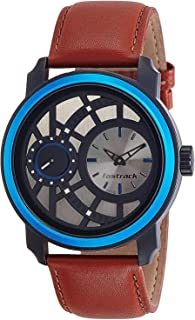 Fastrack Casual Watch for Men, Analog, Leather, 3147KL01
