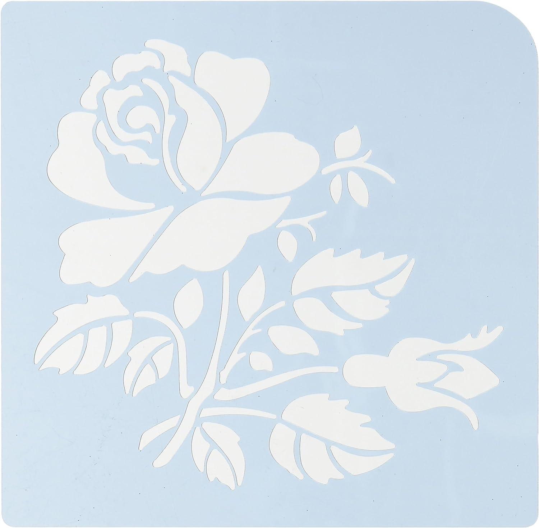 Faux Like a Pro Rosa Stencil, 5.5 by 7-Inch, 7-Inch, 7-Inch, Single Overlay by Faux Like a Pro B00BLNVO5K | Um Sowohl Die Qualität Der Zähigkeit Und Härte  2fe4ea