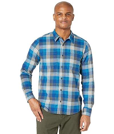 Toad&Co Flannagan Long Sleeve Shirt (Boundary Water) Men