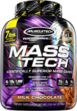 MuscleTech Mass Tech Scientifically Superior Weight Gain Formula Milk Chocolate 3 18kg Estimated Price : £ 39,06