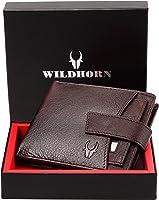 محفظة مصنوعة يدويًا من الجلد للرجال من وايلدهورن