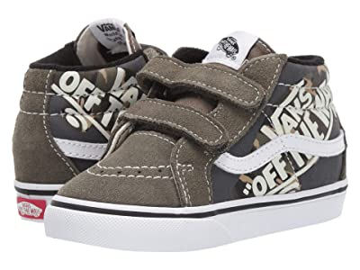 Vans Kids Sk8-Mid Reissue V (Infant/Toddler) ((OTW Quarter) Camo/Grape Leaf/True White) Boys Shoes