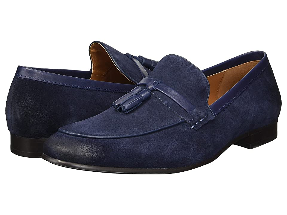 Steve Madden Summit (Navy Suede) Men