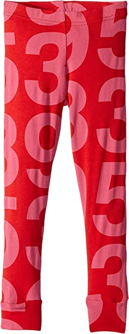 Numbered Leggings (Toddler/Little Kids)