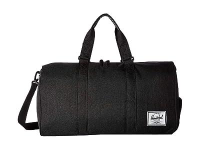 Herschel Supply Co. Novel (Black Crosshatch) Duffel Bags