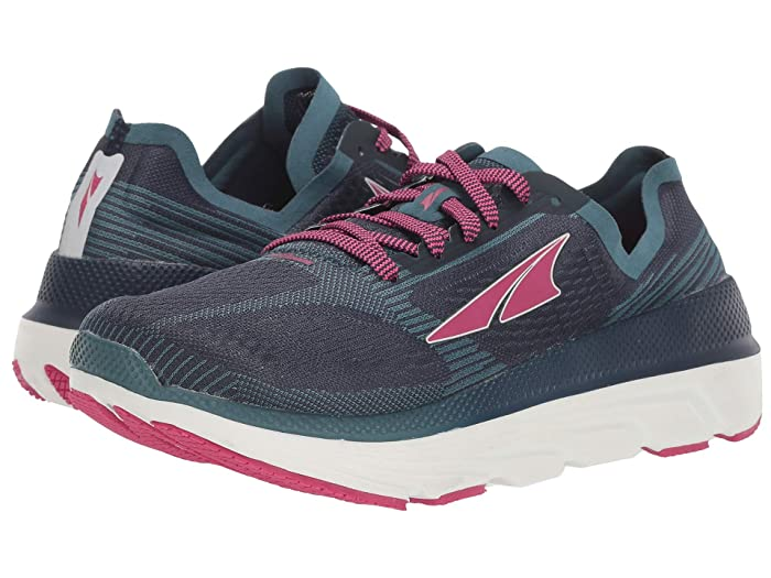 Altra Footwear  Duo 1.5 (Navy/Pink) Womens Running Shoes