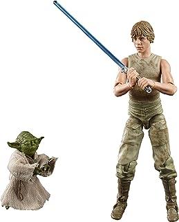 Figuras Star Wars Black Series Deluxe Luke e Yoda - E9642 - Hasbro