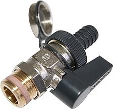 Oventrop Optiflex 1033315 Ball Valve 1//2 Inch Male Thread with Hose Screw Cap M