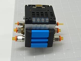 Festo CPV10-GE-MP-4 Manifold with (3) 161414 L302 Valves & (1) 161368 L202 Valve T116618