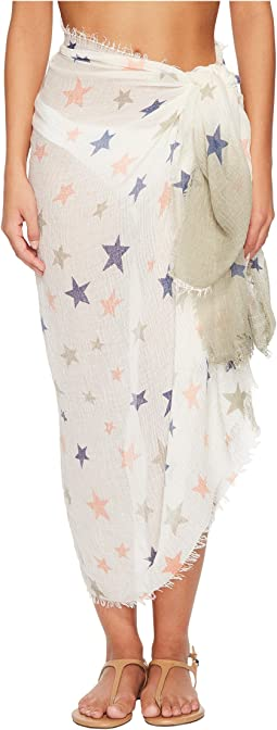 Hat Attack - Stars Beach Sarong