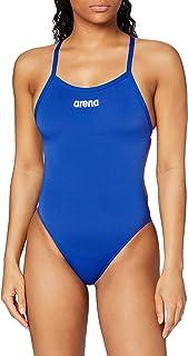 arena Solid Lighttech High Trainingspak voor dames, professioneel badpak, sneldrogend, uv-bescherming, chloorbestendig