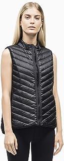 Calvin Klein Women's Hi-Low Zip Puffer Vest