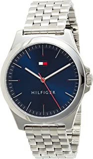 Tommy Hilfiger men's Navy Dial Stainless Steel Watch - 1791713