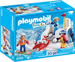 PLAYMOBIL® Snowball Fight Building Set