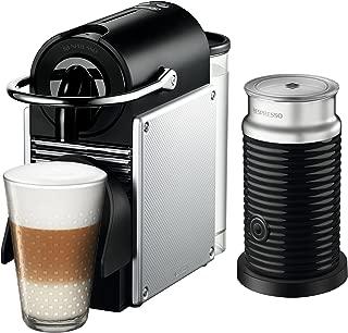 Nespresso by De'Longhi EN125SAE Original Espresso Machine Bundle with Aeroccino Milk Frother by De'Longhi, 2.3, Aluminum