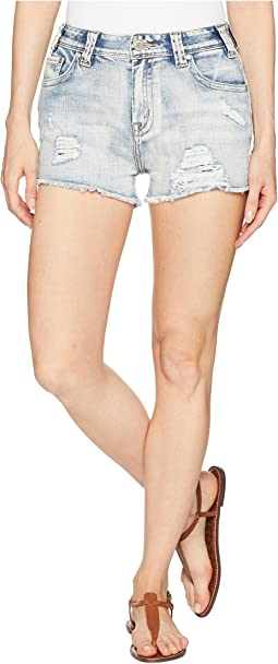 High-Rise Shorts in Light Vintage 68H6676