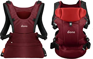 Diono Carus Essentials 3-in-1 Carrying System from Birth up to 3 Years, Red