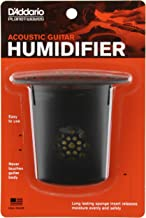 D'Addario Acoustic Guitar Humidifier – Releases Moisture Slowly and Evenly – Protects Instrument from Humidity Without Damaging the Finish – Non-Drip String Suspension Design –Easy to Use and Maintain