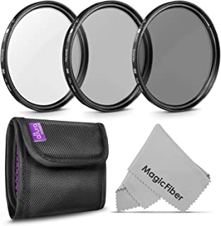 49MM Lens Filter Kit by Altura Photo, Includes 49MM ND Filter, 49MM Polarizing Filter, 49MM UV Filter, (UV, CPL Polarizer ...