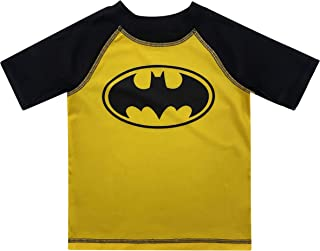 Dreamwave Toddler Boy Batman Rash Guard Rashguard Swim Shirt 4T