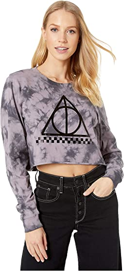 Harry Potter Cloak Wash (Deathly Hallows Crop Long Sleeve)