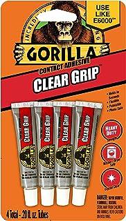 Gorilla GG102057 Glue Clear Grip 4PK GORILLA Gorilla Glue Clear Grip, 4pk