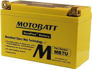 MotoBatt MB7U (12V 6.5 Amp) 100CCA Factory Activated QuadFlex AGM Battery