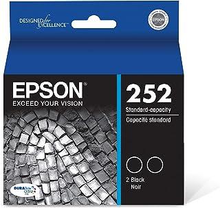 Epson T252120-D2 - Ink Cartridge - Black Dual Pack - DURABrite Ultra Standard Capacity - Prime Eligible