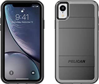Pelican Protector+AMS iPhone XR Case (Black/Light Grey)