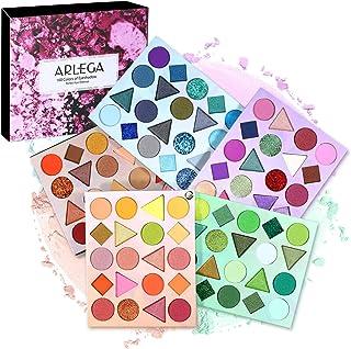 100 Colors EyeshadowPalette, Arlega Highly Pigmented Professional Makeup Kit Long Lasting Waterproof, Matte Shimmer Metal...