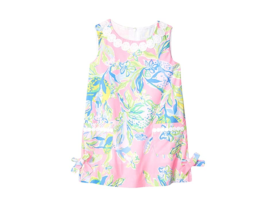 Lilly Pulitzer Kids Little Lilly Classic Dress (Toddler/Little Kids/Big Kids) (Multi Squeeze The Day) Girl