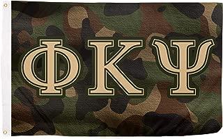 Phi Kappa Psi Camo Letter Fraternity Flag Banner 3 x 5 Sign Decor Phi Psi