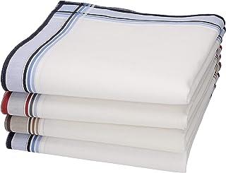 43 x 43 cm BETZ Set di 12 fazzoletti da uomo Lord 4 misure 100/% cotone Color Dessin 157
