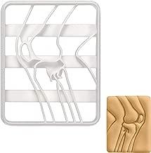 Human Knee Bone X-Ray cookie cutter, 1 piece - Bakerlogy