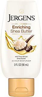 Jergens Shea Butter Deep Conditioning Moisturizer, 3 Ounces (Packaging May Vary)