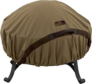 Classic Accessories Hickory Round Fire Pit Cover, Large