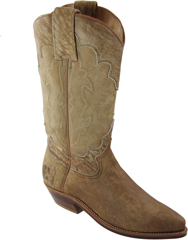 El Charro Vintage damen Suede Leather Stiefel 2328