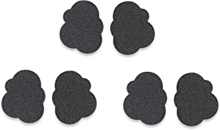 Anti-Slip Shoe Grips by Solemates - The Safest & Most Stylish Sole Protection for Heels & Flats-3 Pairs of Skid Proof Pads-Easy Self-Adhesive Patches That Add Traction
