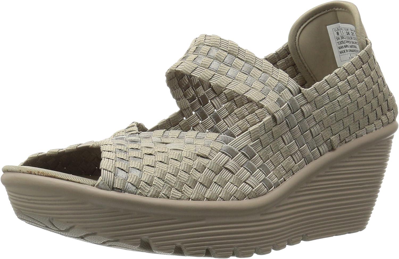 Skechers Cali Woherren Parallel Parallel Parallel Midsummer's Weave Platform Sandal  266265