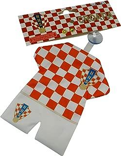 Croatia Hrvatska FIFA World Cup Mini Jersey Kit With Suction Cap For Car Window .. New