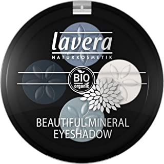 Lavera Beautiful Mineral Eyeshadow Quattro – # 07 Blue Platinum 4×0.8g/0.026oz