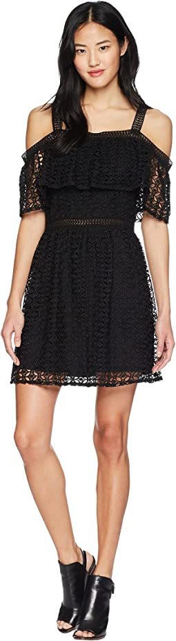 Aitana Geometric Lace Dress