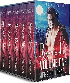 Rescue Inc Volume One: A Vampire Paranormal Gay Romance (Rescue Inc Boxset One)