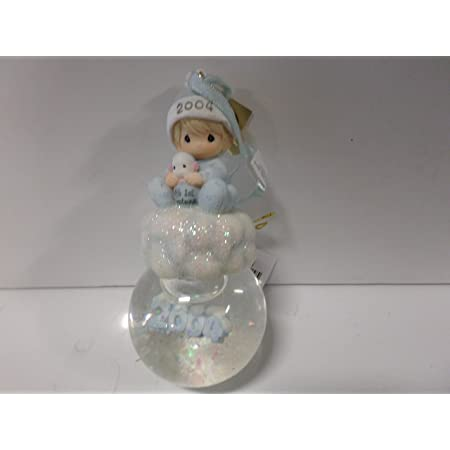 Precious Moments Baby's First Christmas Hanging Ornamnent Waterball (Boy) 118568