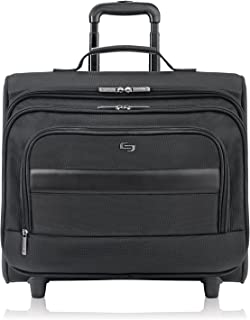 Solo Columbus 15.6 Inch Rolling Laptop Overnighter Case with Removable Sleeve