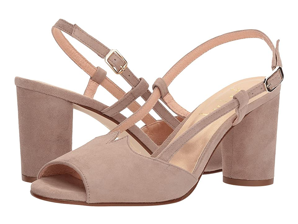 French Sole Berry (Natural Suede) Women