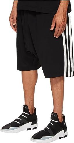 adidas Y-3 by Yohji Yamamoto - 3-Stripes Shorts