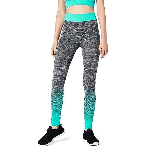 fcd60bbbf9 FM London Women's Sportswear set | Crop Top and Leggings Stretch-Fit Gym  Wear Set